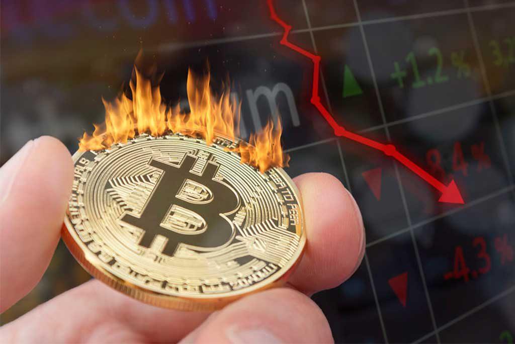 Bitcoin opmars in gevaar, koers nadert belangrijk support