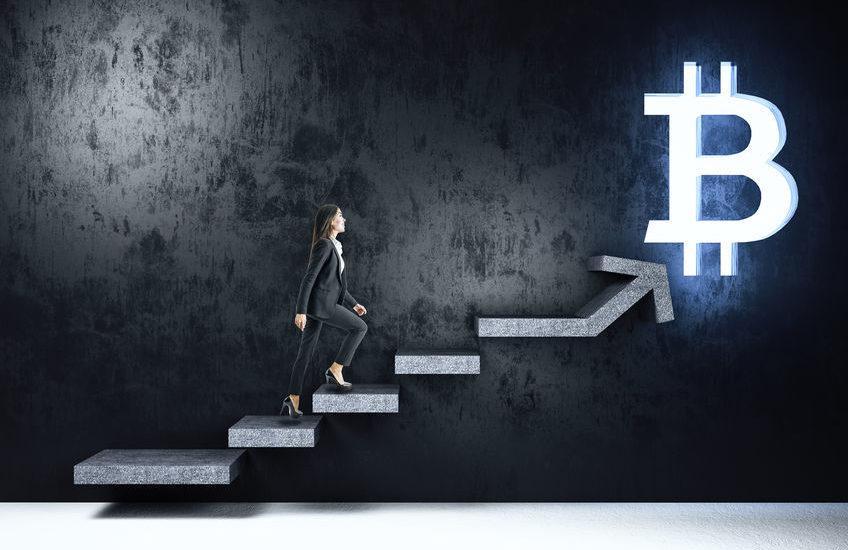 Opwaarste trendkanaal bitcoin