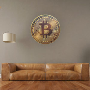 Bitcoin On The Wall