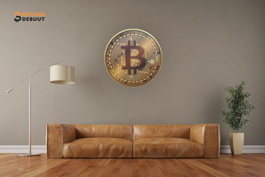 Bitcoin On The Wall