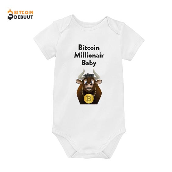 Bitcoin Romper - Millionair