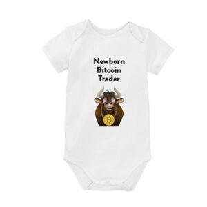 Bitcoin Romper Newborn Bitcoin Trader