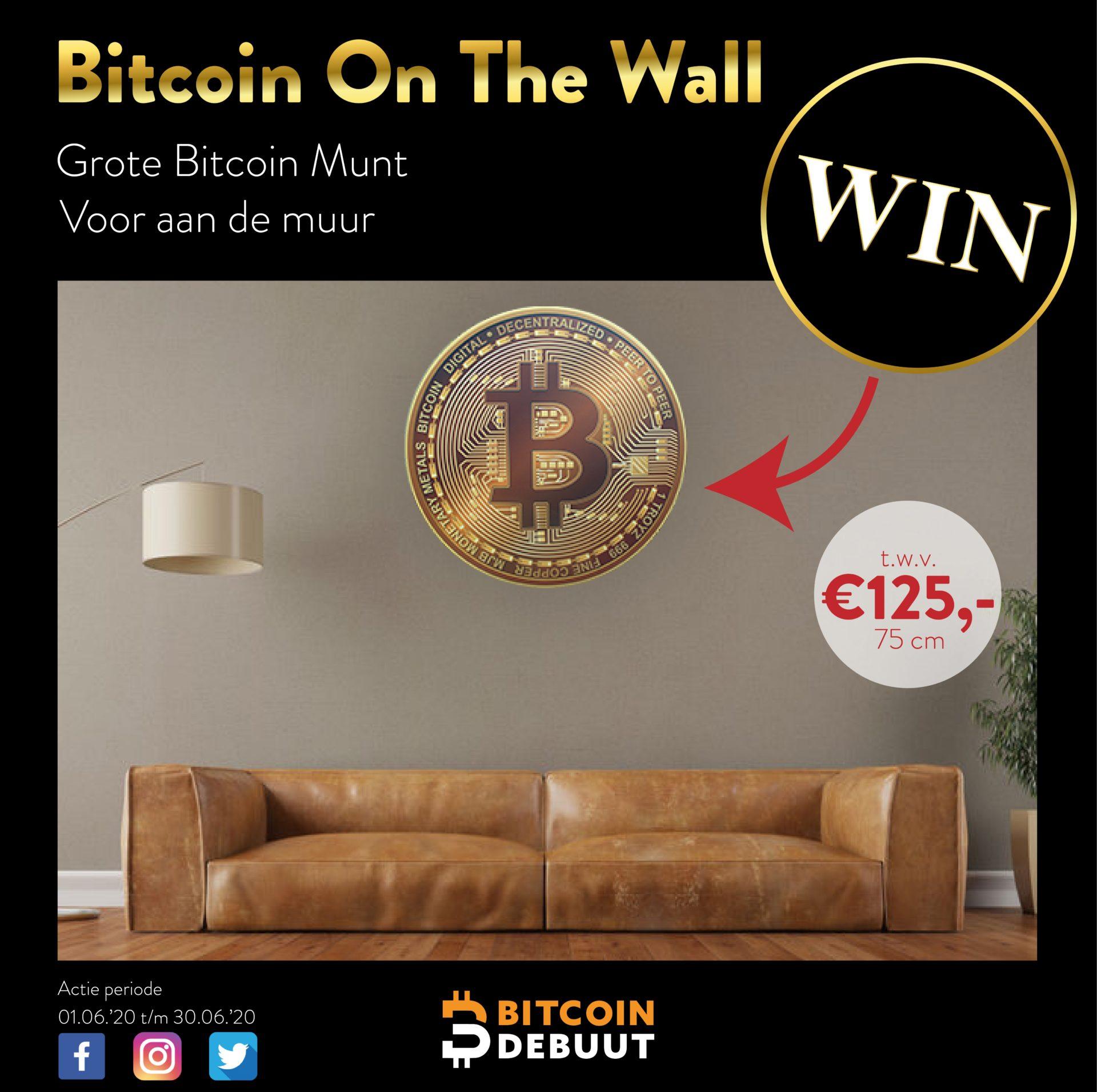 WINACTIE | Bitcoin Debuut