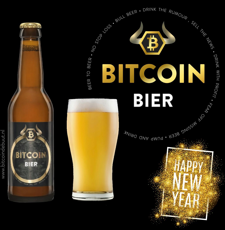 Bitcoin Bier - Happy New Year