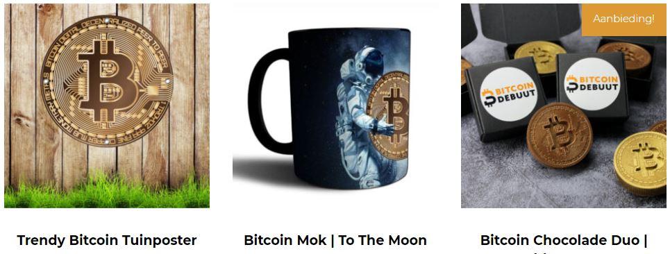 Bitcoin Webshop