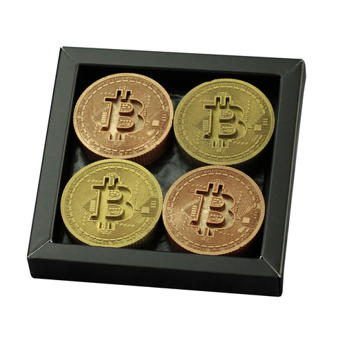 Bitcoin Munten Chocolade