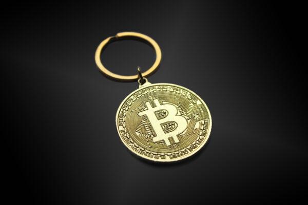 Bitcoin Sleutelhanger Voorkant
