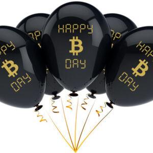 Bitcoin Ballon Verjaardag